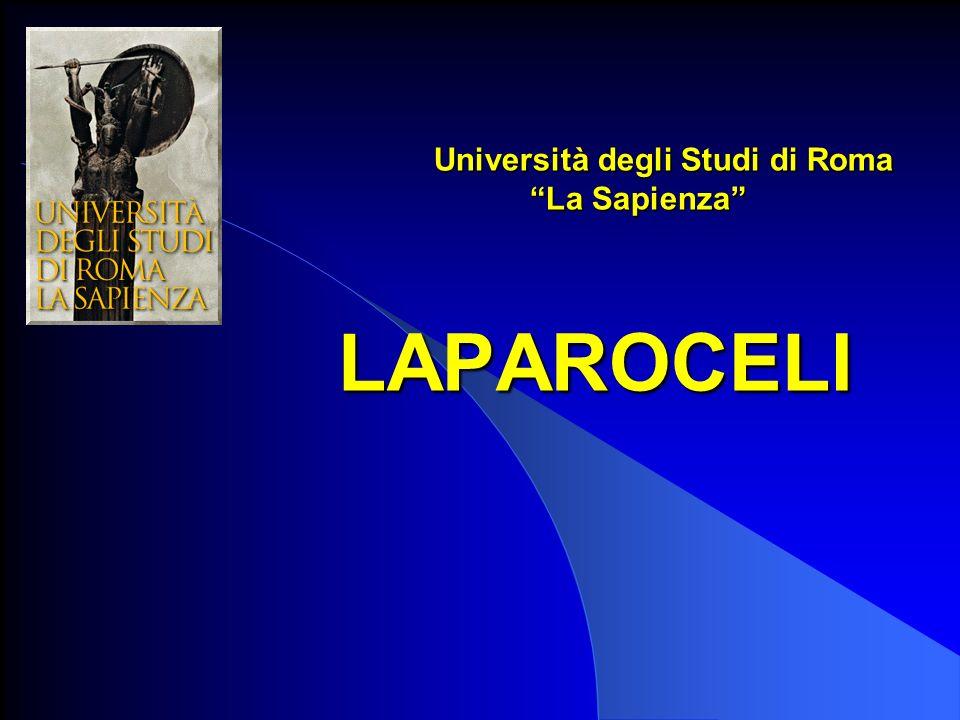 Università degli Studi di Roma La Sapienza LAPAROCELI