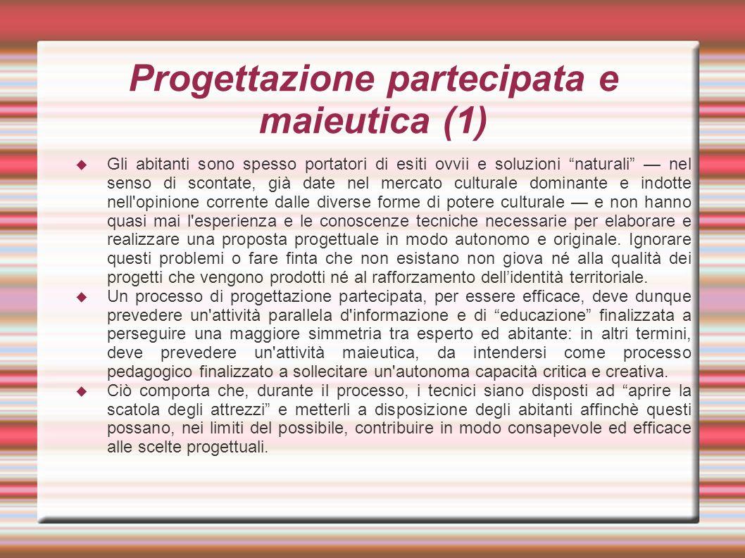 Progettazione partecipata e maieutica (1)