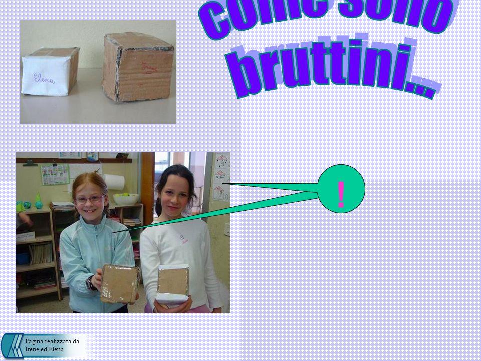 IreneElena come sono bruttini... ! Pagina realizzata da Irene ed Elena