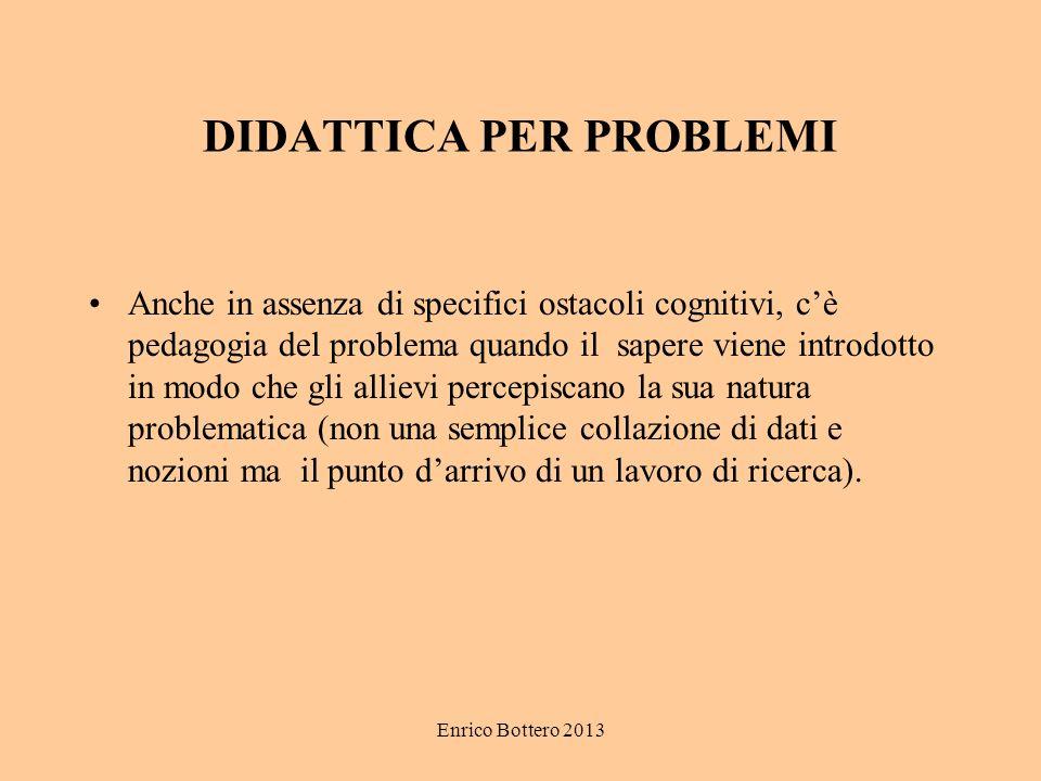 DIDATTICA PER PROBLEMI