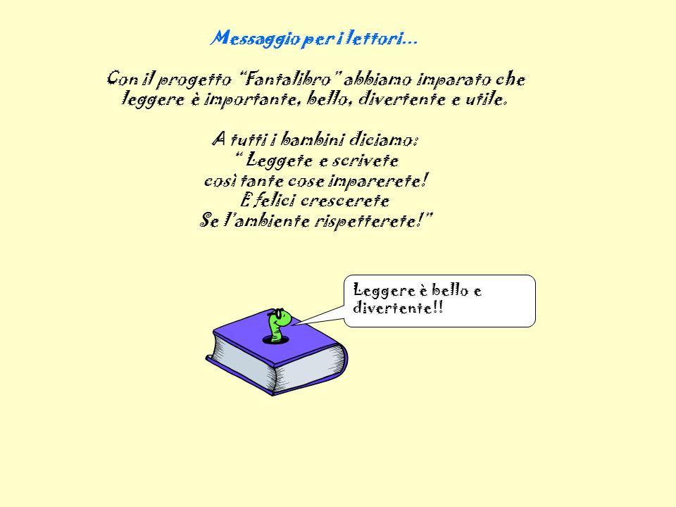Messaggio per i lettori…