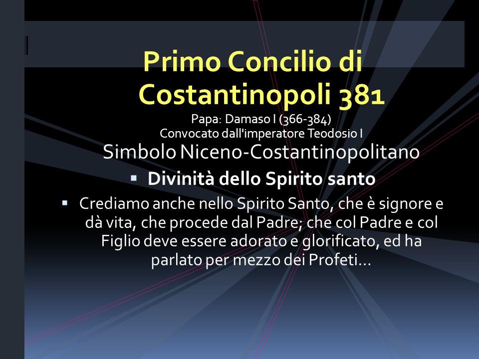 Divinità dello Spirito santo