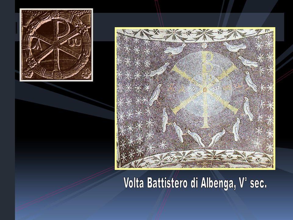 Volta Battistero di Albenga, V° sec.