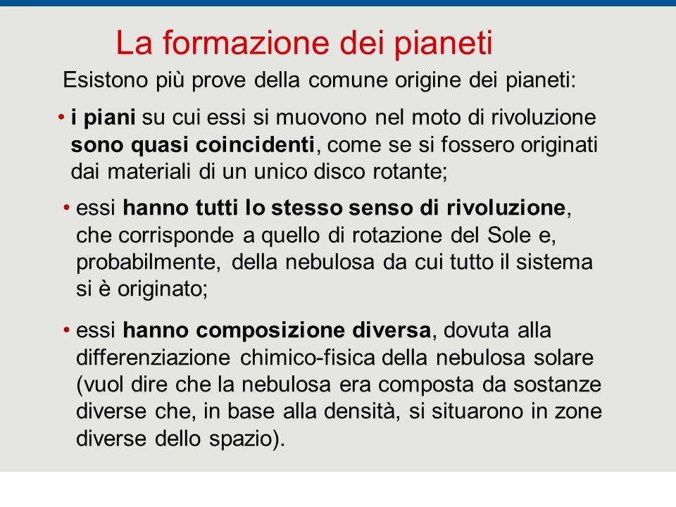 La formazione dei pianeti