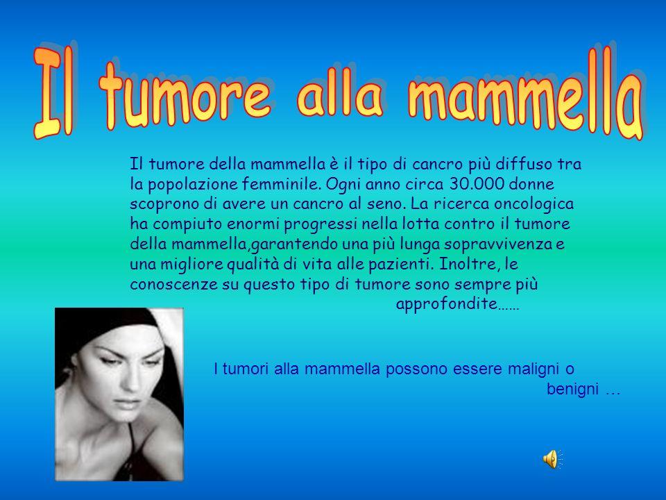 Il tumore alla mammella