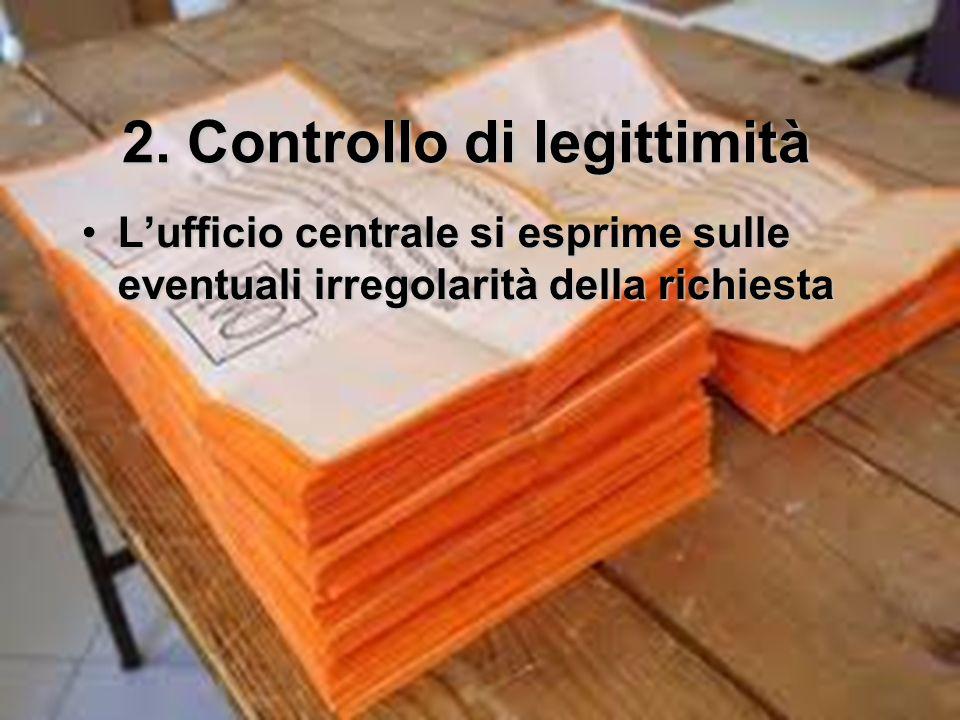 2. Controllo di legittimità