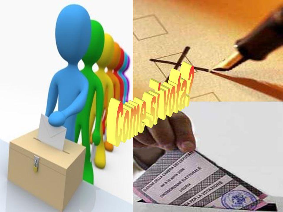 Come si vota