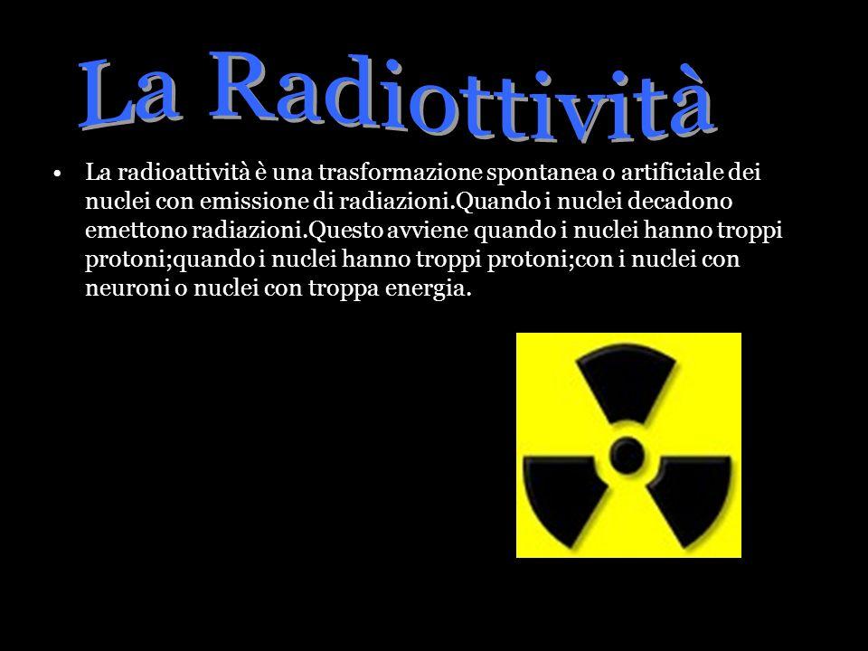 La Radiottività