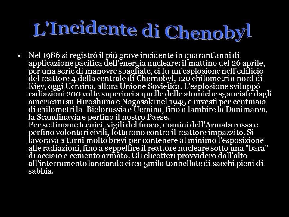 L Incidente di Chenobyl