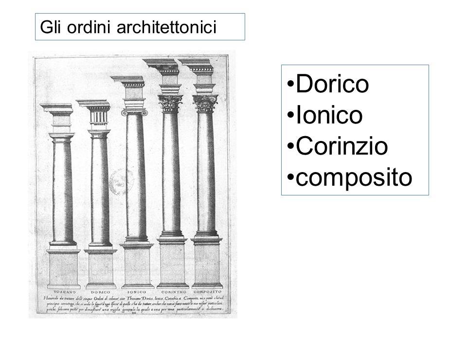 Gli ordini architettonici