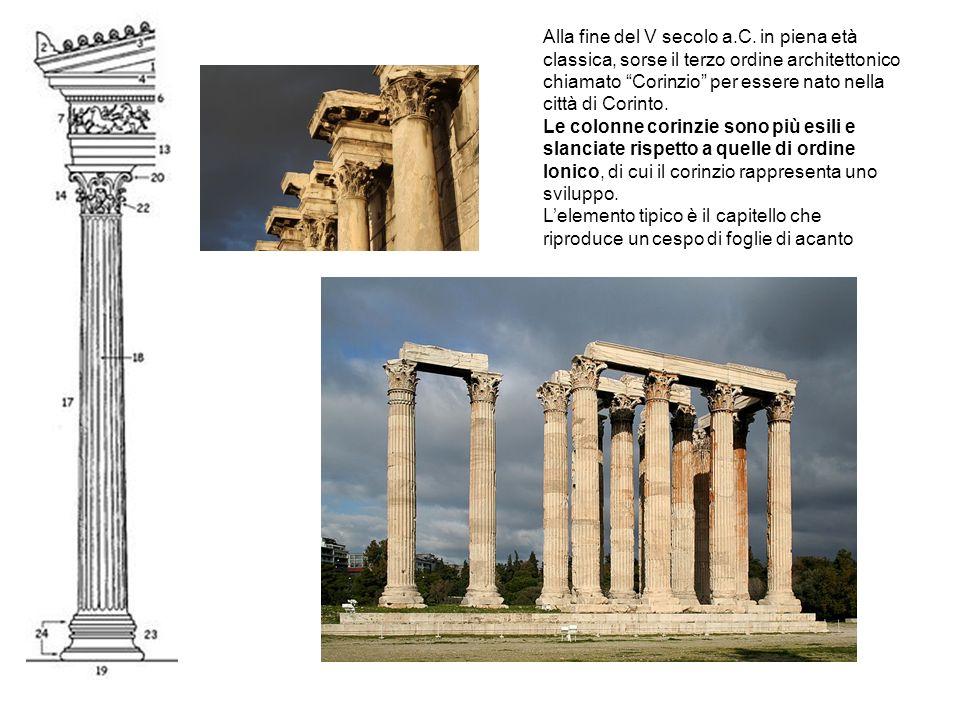 Alla fine del V secolo a. C
