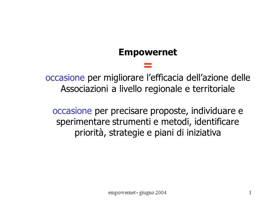 = Empowernet occasione per migliorare l'efficacia dell'azione delle