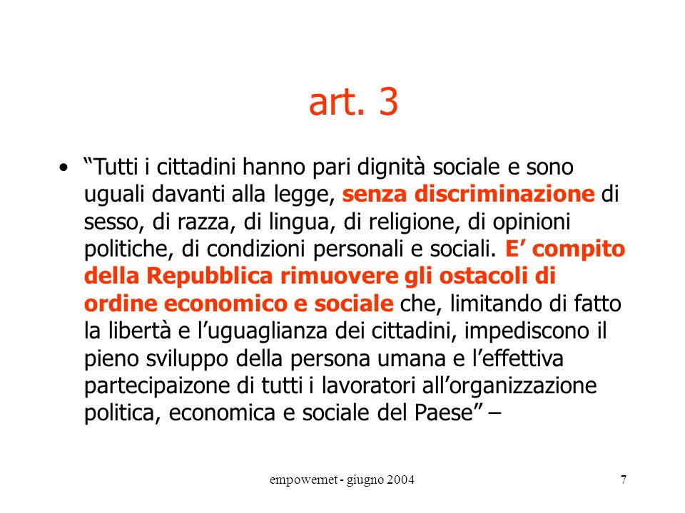 art. 3 art. 3.