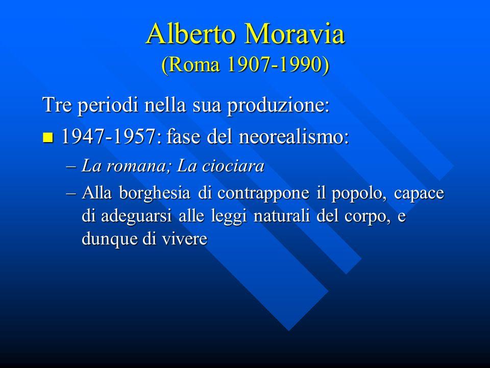 Alberto Moravia (Roma 1907-1990)