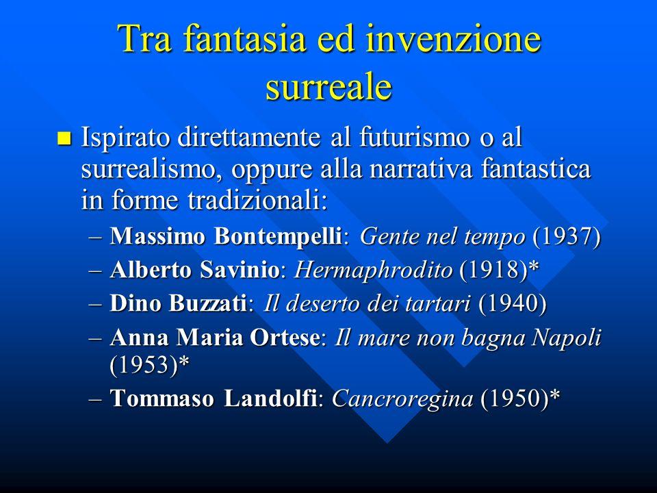 Tra fantasia ed invenzione surreale