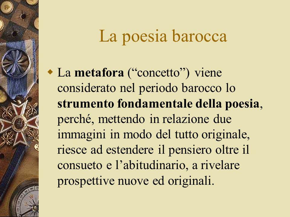 La poesia barocca