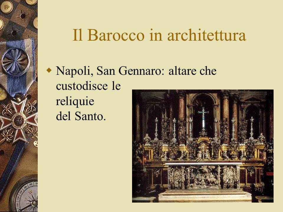 Il Barocco in architettura