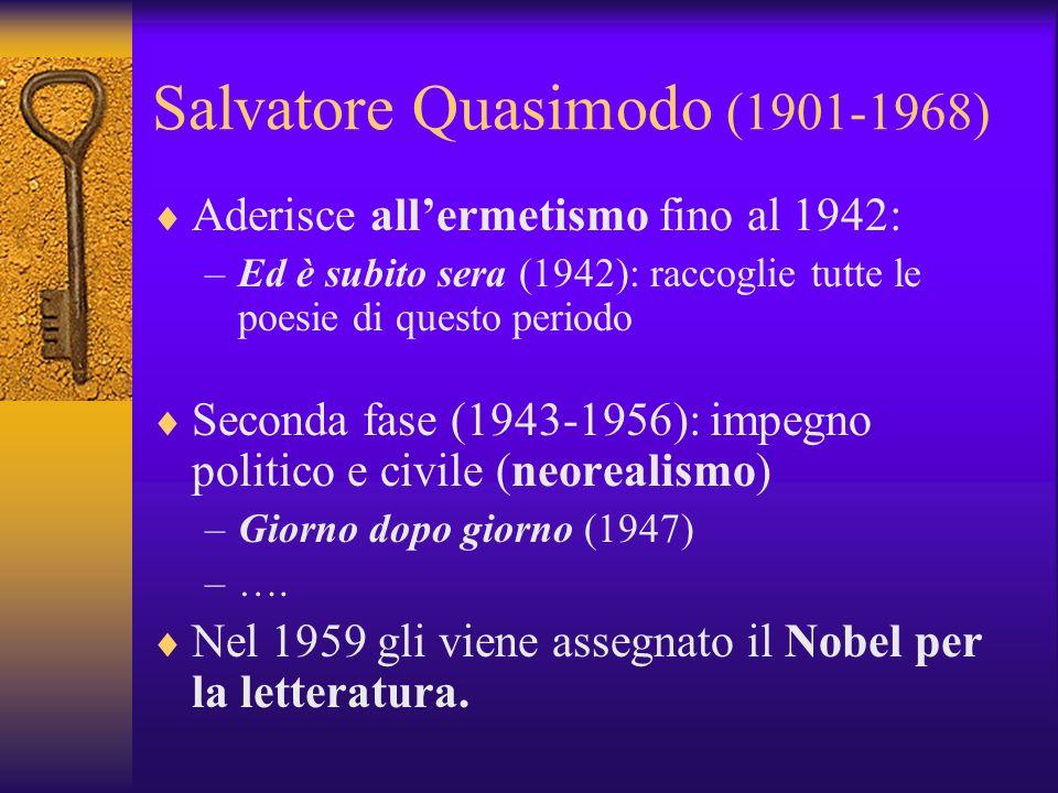 Salvatore Quasimodo (1901-1968)