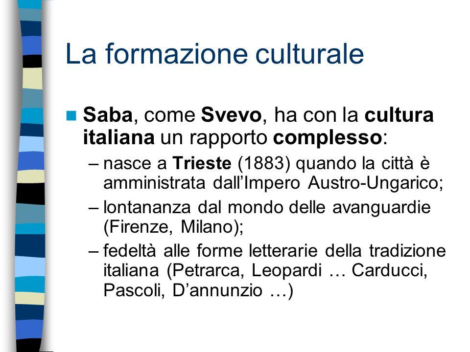 La formazione culturale