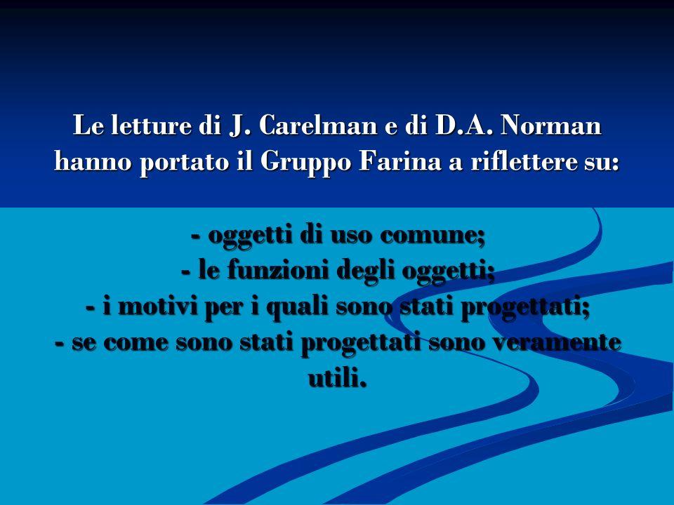 Le letture di J. Carelman e di D. A