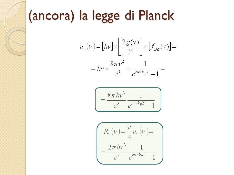 (ancora) la legge di Planck