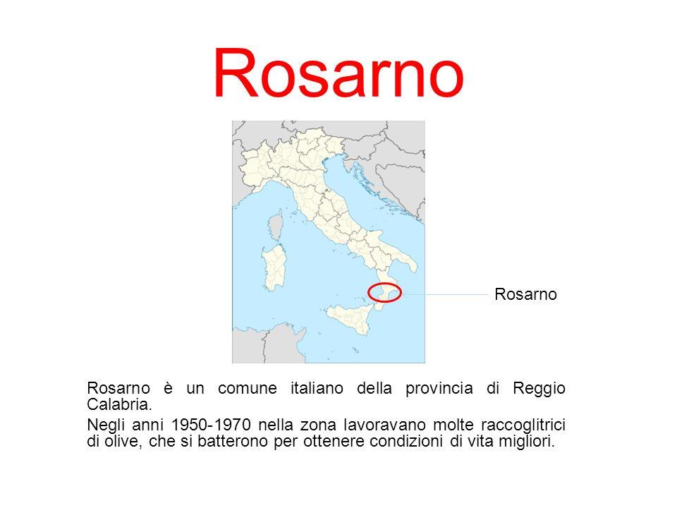 Rosarno Rosarno. Rosarno è un comune italiano della provincia di Reggio Calabria.