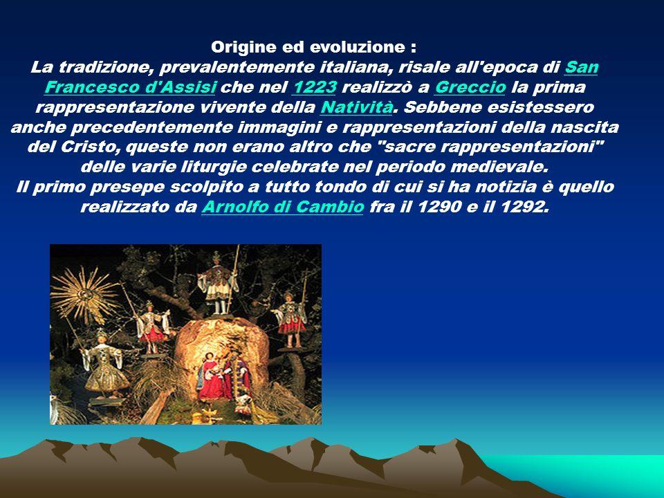 Origine ed evoluzione :