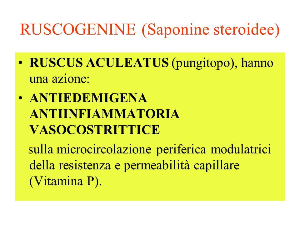 RUSCOGENINE (Saponine steroidee)