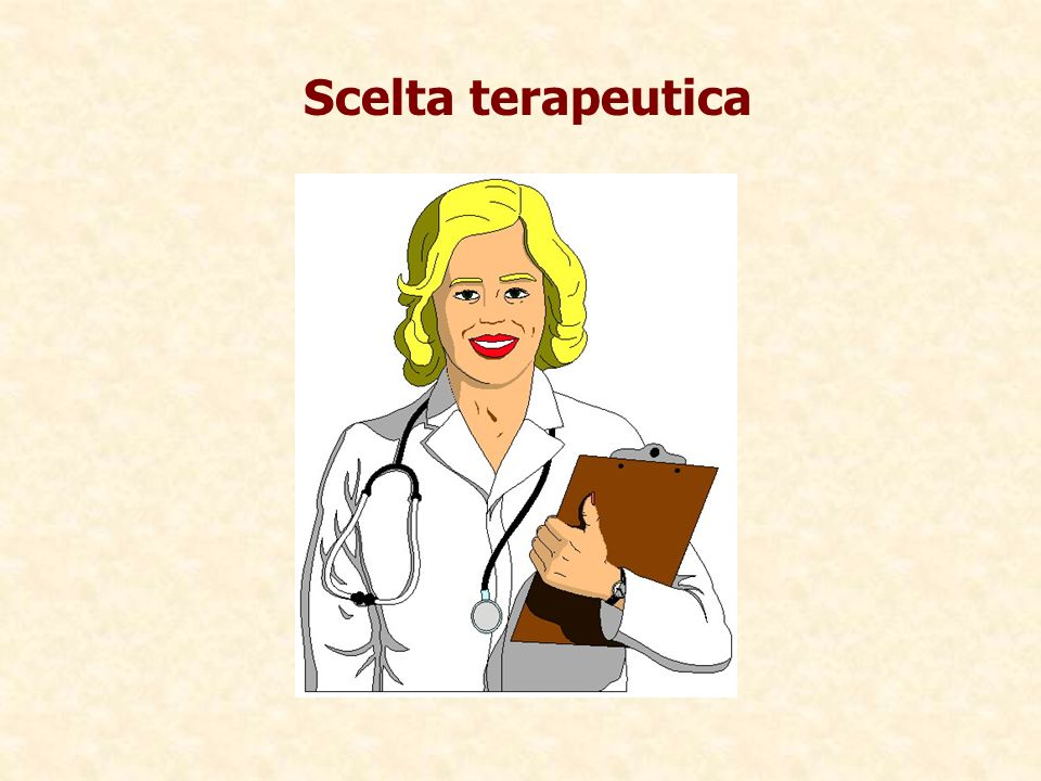 Scelta terapeuticaBalance of Benefits to Risks May Be Less Favorable in the Elderly.