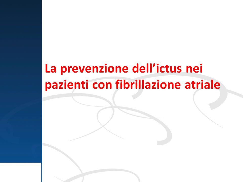La prevenzione dell'ictus nei pazienti con fibrillazione atriale