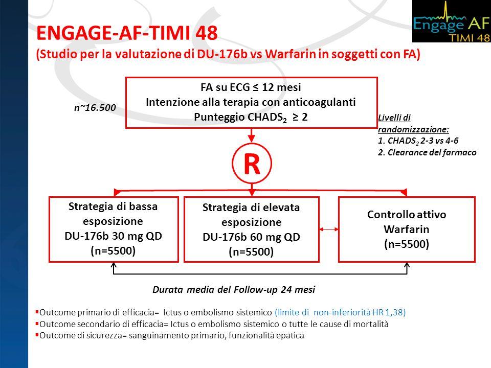 ENGAGE-AF-TIMI 48 (Studio per la valutazione di DU-176b vs Warfarin in soggetti con FA)
