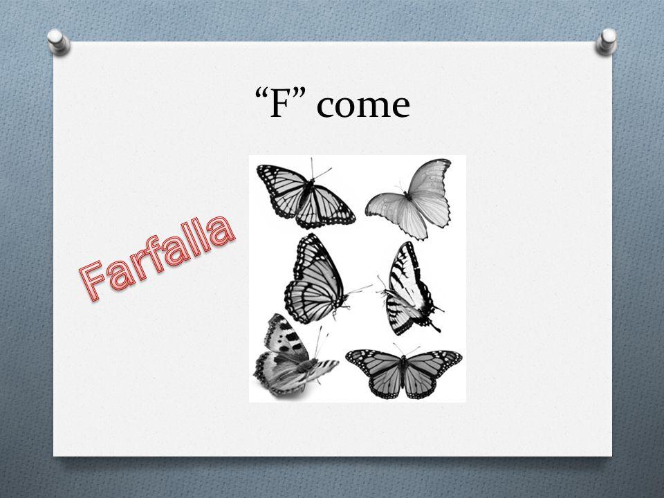 F come Farfalla