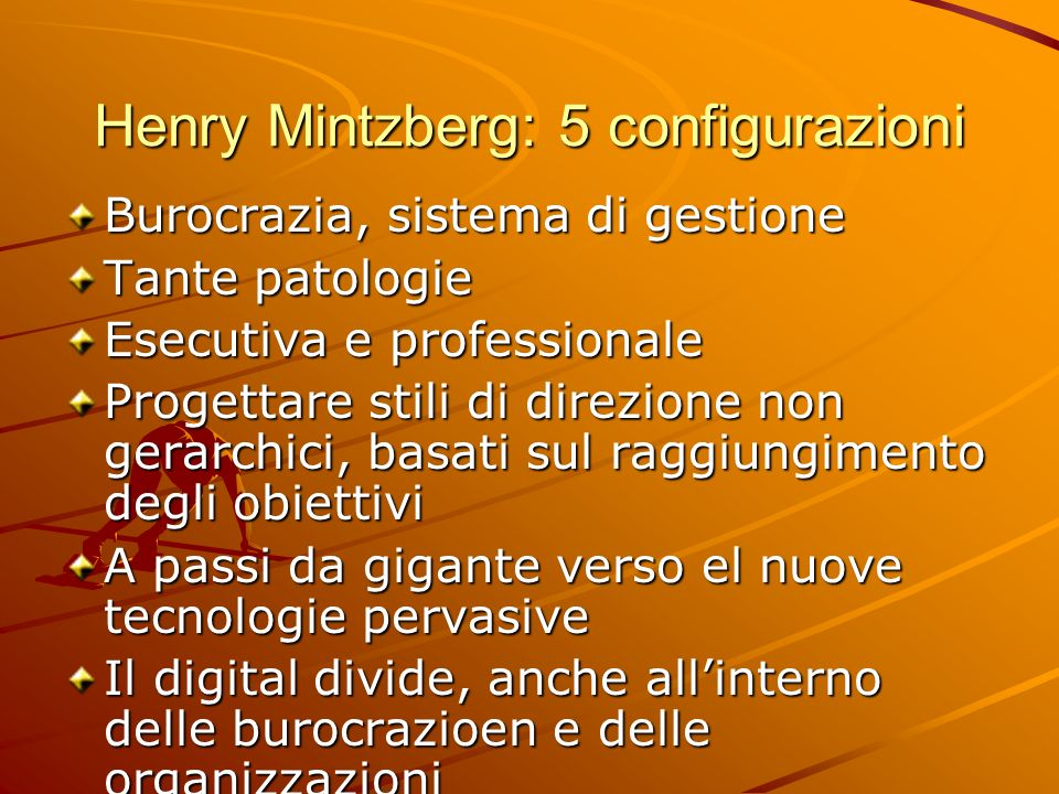 Henry Mintzberg: 5 configurazioni