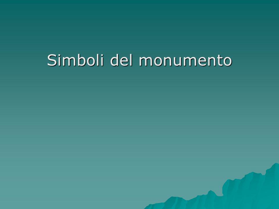 Simboli del monumento