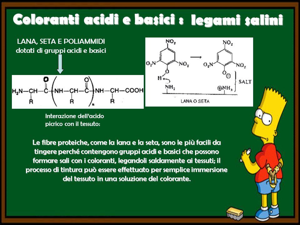 Coloranti acidi e basici :