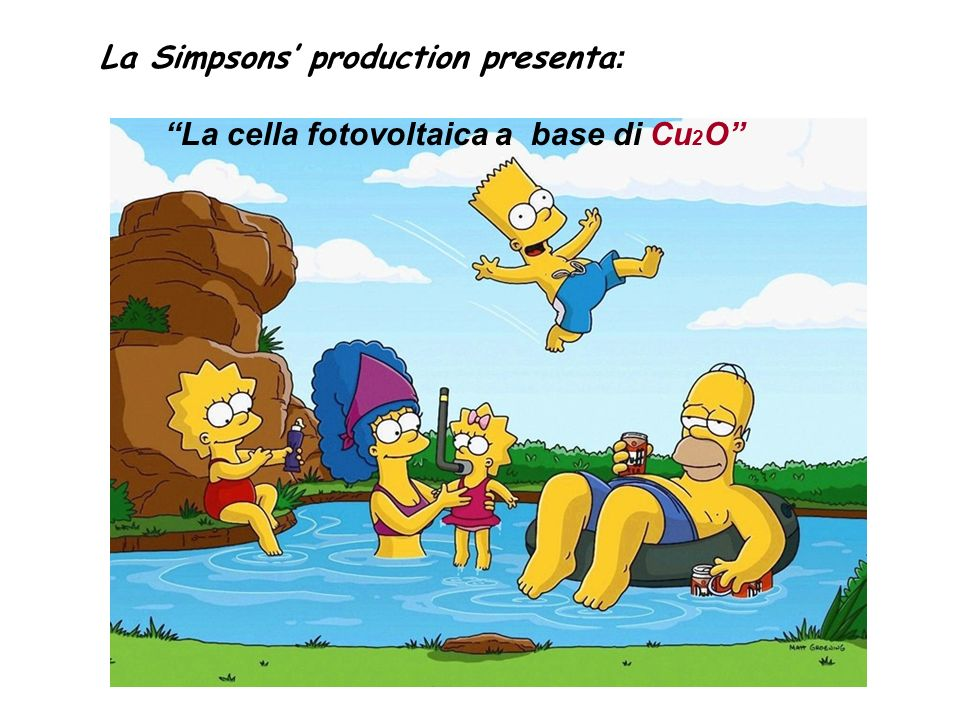 La Simpsons' production presenta: