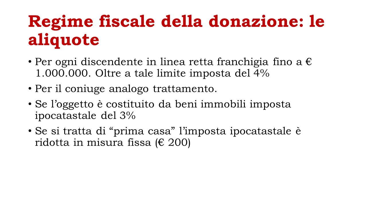 Imposte donazione prima casa - Costo donazione casa ...