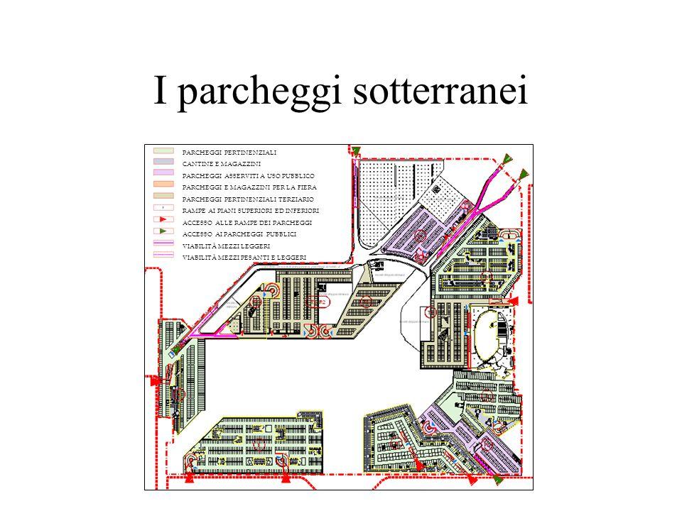I parcheggi sotterranei