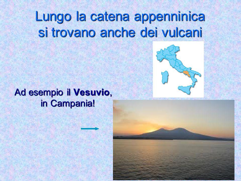 Lungo la catena appenninica si trovano anche dei vulcani