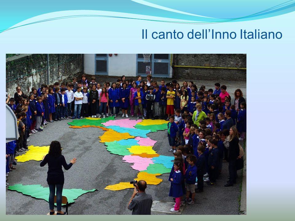 Il canto dell'Inno Italiano