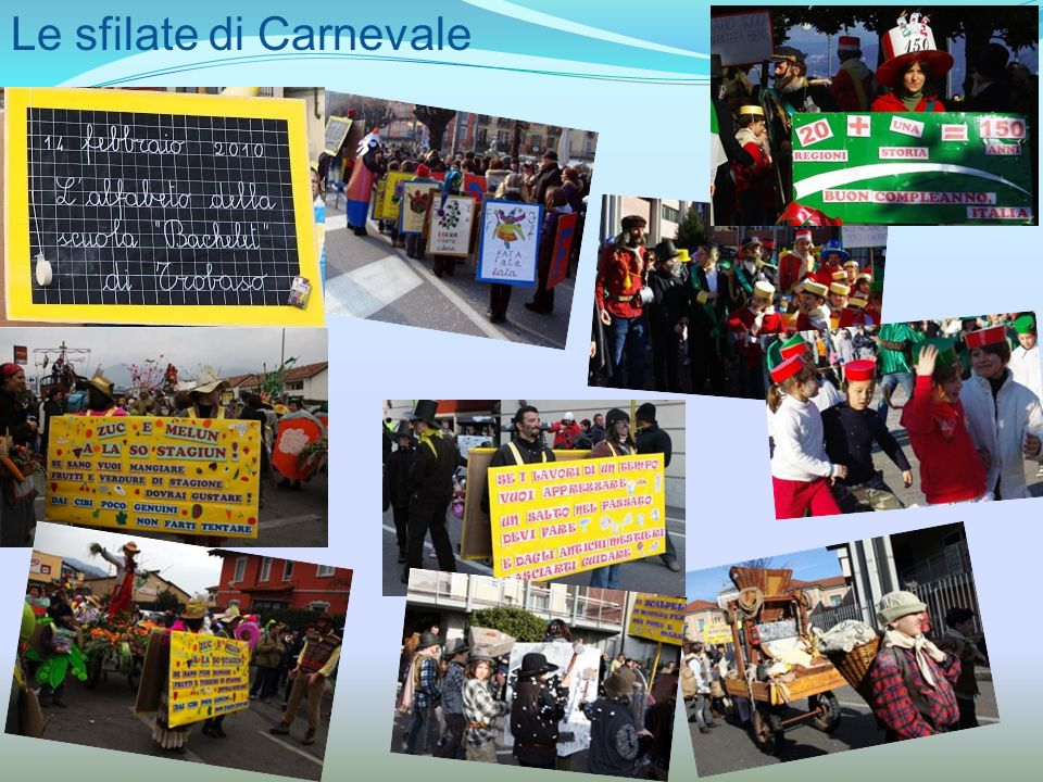 Le sfilate di Carnevale