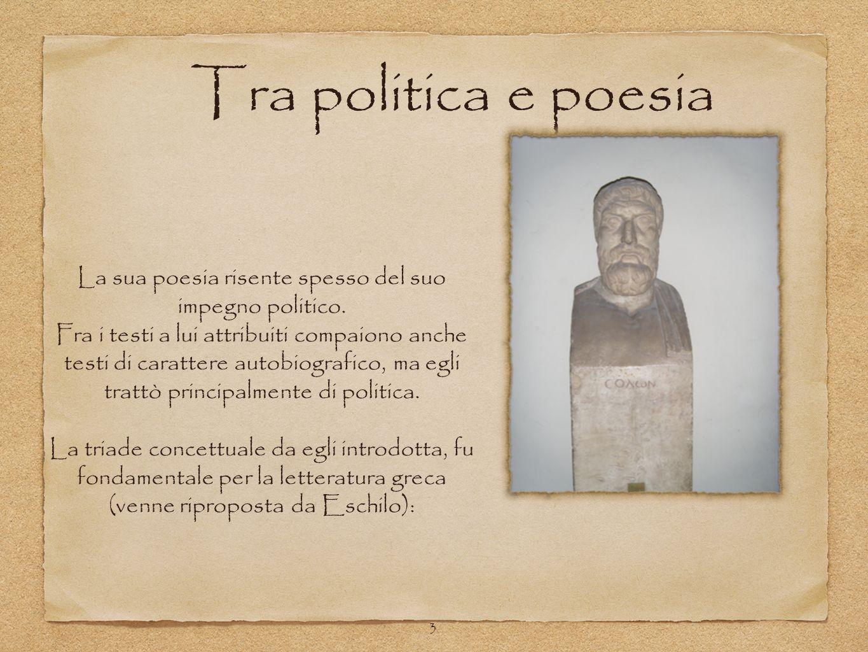 La sua poesia risente spesso del suo impegno politico.