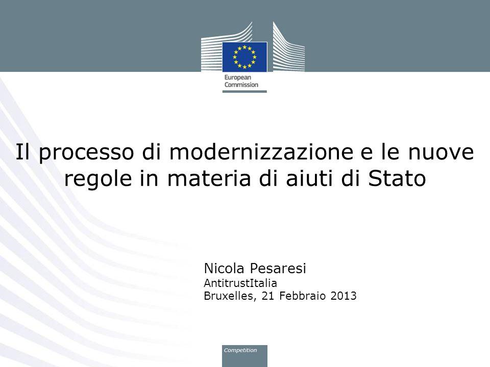 Nicola Pesaresi AntitrustItalia Bruxelles, 21 Febbraio 2013