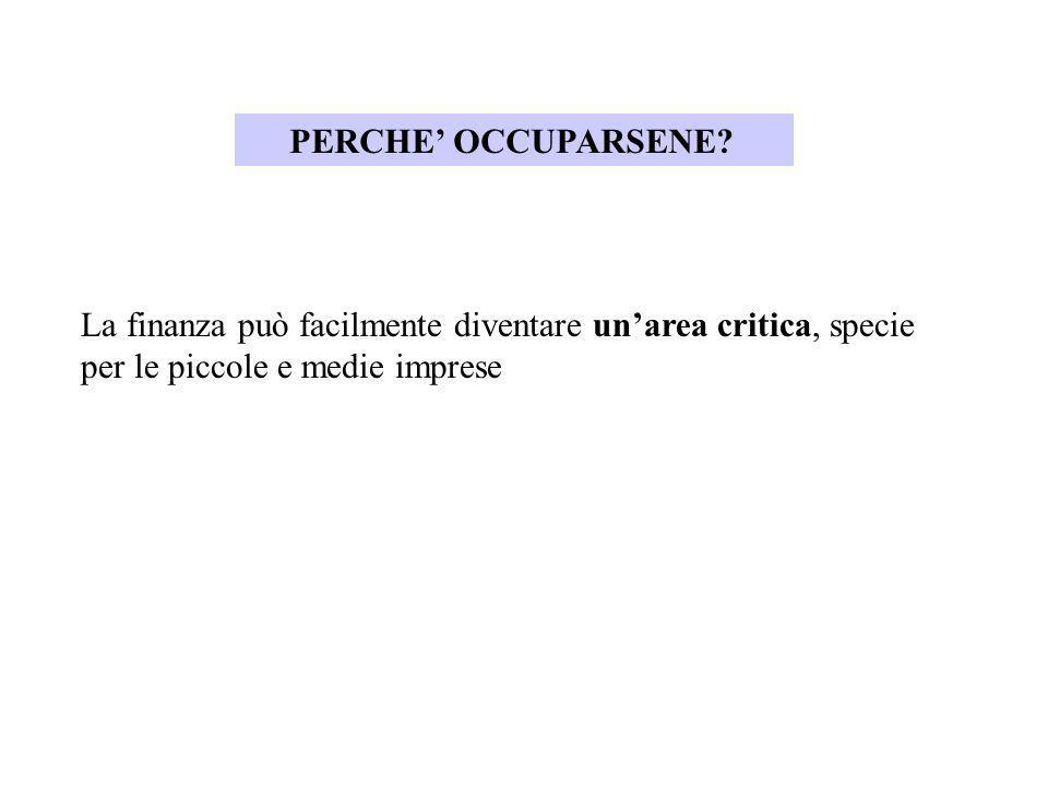 PERCHE' OCCUPARSENE.