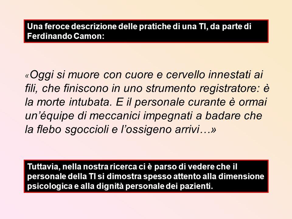 Una feroce descrizione delle pratiche di una TI, da parte di Ferdinando Camon: