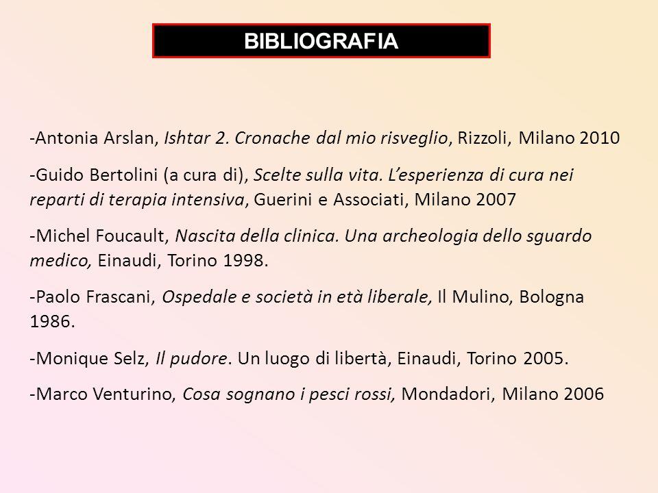 BIBLIOGRAFIA -Antonia Arslan, Ishtar 2. Cronache dal mio risveglio, Rizzoli, Milano 2010.
