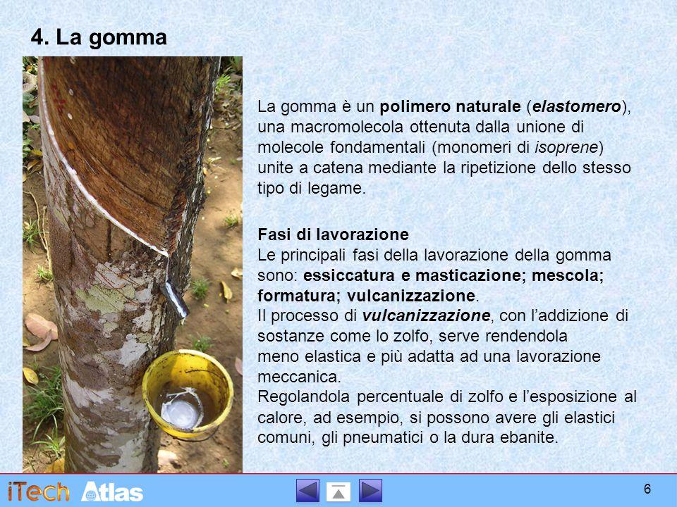 4. La gomma
