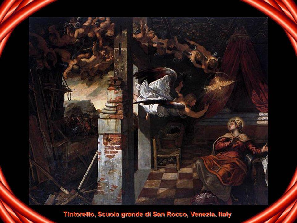 Tintoretto, Scuola grande di San Rocco, Venezia, Italy