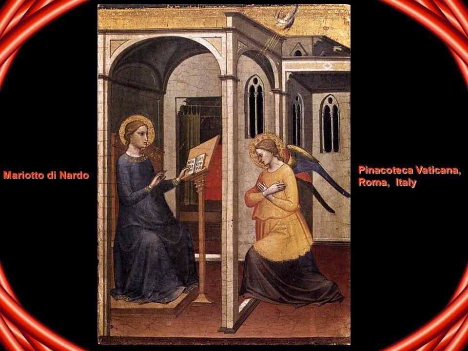 Pinacoteca Vaticana, Roma, Italy Mariotto di Nardo