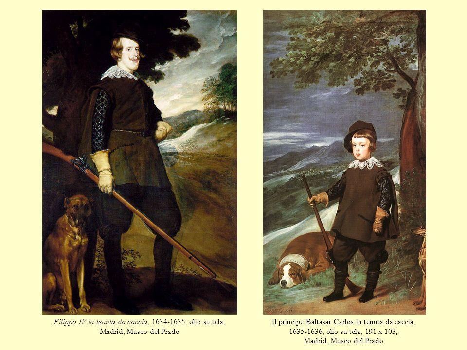 Filippo IV in tenuta da caccia, 1634-1635, olio su tela, Madrid, Museo del Prado